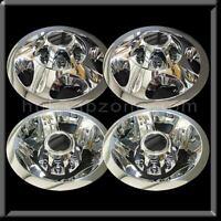 """2008-10 Chevy Silverado 3500 17"""" Dually Chrome Wheel Simulators and Center caps"""