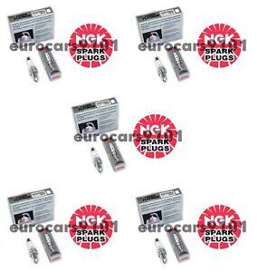 Set of (5) Volkswagen Jetta NGK Spark Plugs 1675 06H905601A