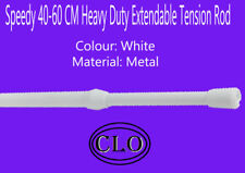 Speedy 40cm-60cm Heavy Duty Extendable Tension Rod For Light-Medium Net Curtains