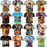 Fashion One Piece Anime Print Men Women 3D T-Shirt Casual Short Sleeve Tee Tops
