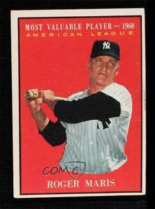 1961 Topps Roger Maris #478