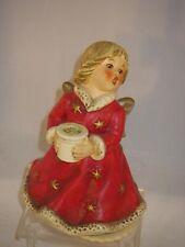 Goebel angel Candle Holder Music Box