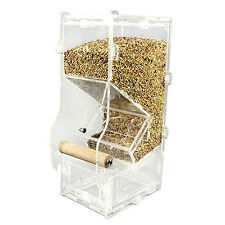 Clear Acrylic Pet Bird Cage