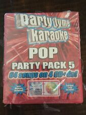 Party Tyme Karaoke: Pop Party Pack 5, 64 Songs Free Shipping!!!