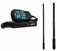 Uniden UH8080S Remote MIC Mobile/UHF Scanner 2 in 1 UHF-CB