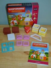 Magformers Build Up House Set (50 Piece) Magnetic Magnet Toys Building #05003