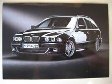 Prospekt Mappe BMW 5er E39 touring Highline Sport Exclusive 2004 D brochure