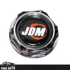 JDM ENGINE OIL FILLER TANK CAP COVER FITS HONDA CIVIC EK ACCORD ACURA RSX CHROME
