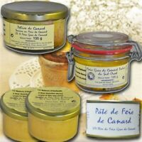 French foie gras tasting, from the south west
