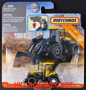 2019 Matchbox Working Rigs New Holland Bidirectional™ Tractor YELLOW / MOC