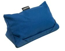 i-Pad Pillow Tablet Cushion Holder Stand Rest Denim Blue Fabric Coz-e-reader