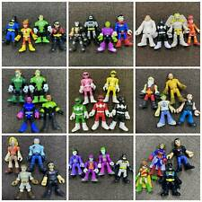 Sets Of Imaginext Power Rangers DC Super Friends Blind Bags figure Heroes Toys
