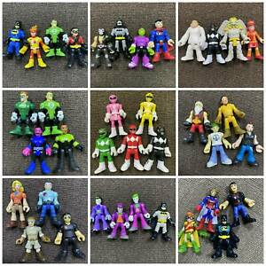 Sets Of Imaginext  Super Friends Power Rangers Blind Bags figure Heroes Toys