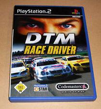 Playstation 2 Spiel - DTM Race Driver ( Racedriver ) - PS2 Game Deutsch komplett