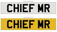 Private Cherished Registrations, Chief, CEO, Boss, Manager, CHIEF MR