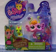 Littlest Pet Shop Glistening Garden Fairies #2614-2615 Brand New in Box