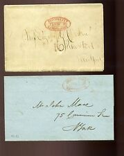 Lot of 2  Stampless BOYD'S CITY EXPRESS Covers (Stock #Boyds Lot)