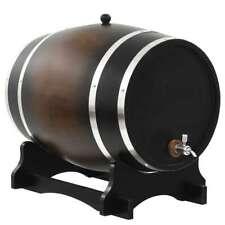 Vidaxl bois de Pin massif Tonneau À vin Robinet 35 L bistrot Barrique Baril