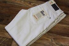 Men's BLEND Low Crotch Regular Fit Regular Leg White Jeans Trousers sz W29 L32