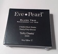 EVE PEARL BLUSH TRIO SULTRY CHEEKS(DARK) FREE SHIPPING, NEW IN BOX