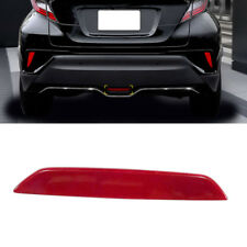 US STOCK Rear Brake Light Reflective Sheet Cover Red For Toyota C-HR 2016-2018