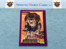 1993 Classic NEAL ADAMS Autograph /7500   Auto   DeathWatch 2000 JAGUARUNDI Puma