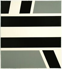 Pierre Clerk: Untitled, 1972. Signed, Numbered, Black and Grey, Fine Art Print.