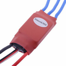Simonk 30A Brushless Speed Controller ESC Red for Airplane Multirotor USA Stock