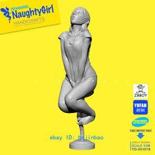 50mmH Naughty Girl Unpainted Model Kits YUFAN Sexy Woman Garage Kit Resin Statue