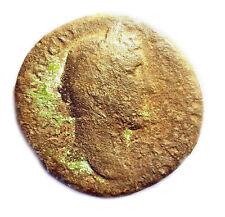 Brass Dupondius of Antoninus Pius 138-161AD - Felicitas Reverse  #PZS18