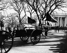President John F. Kennedy funeral procession leaves White House - New 8x10 Photo