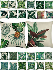 18x18 Pillow Case Sofa Couch Throw Cushion Cover Home Decor Leaf Pattern