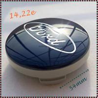 Ford Nabenkappe Radkappe Zierkappe Alufelge 1429118 NEU 54mm x 4 Stück Blau