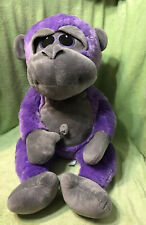 "Emerald Toy 30"" Purple Orangutan Ape Monkey w Belly Button Plush Stuffed Animal"