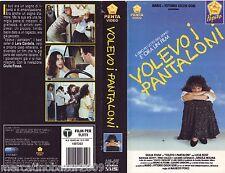 VOLEVO I PANTALONI (1990) COVER EDIZIONE PEPITE PENTA VIDEO, NO VHS