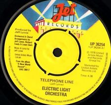"ELECTRIC LIGHT ORCHESTRA telephone line ep 7"" WS EX/ uk jet UP36254 elo"