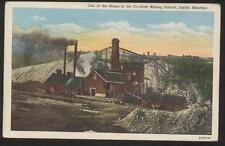 Postcard JOPLIN, MISSORI (MO) Mine View in Tri-State Mining District 1907 ?