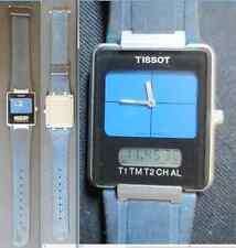 tissot twotimer crono chrono chronograph old wrist watch working running vintage
