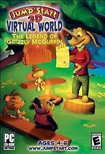 JumpStart 3D Virtual World: The Legend of Grizzly McGuffin (PC, 2008)