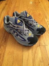 Adidas Response TR Trail Running Shoes Men's Size 12 Silver Blue Yellow New