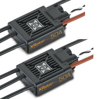 Hobbywing XRotor PRO 50A Brushless Wire Leaded ESC Dual Pack (2Pcs)