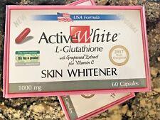 2  Active White L-Glutathione Whitener Pills Vitamin C Skin Whitening Capsule