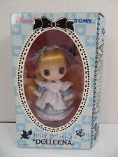 """New Tomy Disney Alice In Wonderland Dollcena Doll """"Milky Girl"""""""