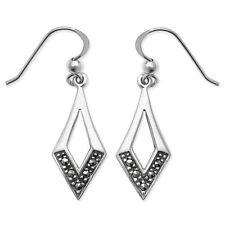 Unbranded Marcasite Drop/Dangle Fine Earrings