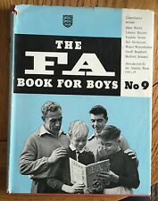 The FA Book For Boys No. 9 - UK 1956 HB with DJ