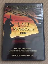 The Last of the Mohicans (DVD, 2007, 2-Disc Set) Authentic Bbc Dvd