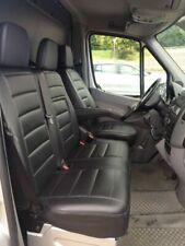 Sitzbezüge Kunstleder Schwarz passend für Mercedes Sprinter W906 V-Klasse Vito
