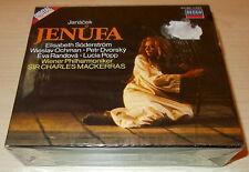 JANACEK-JENUFA-2xCD 1985-MACKERRAS/SODERSTROM-FULL SILVER RINGS-UNPLAYED-MINT
