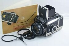 ZENZA BRONICA S2A 2 1/4 X 2 1/4 SLR CAMERA WITH 100MM F2.8 ZENZANON LENS INSTR