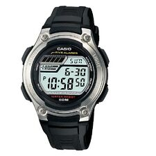 Casio W-212H-1AV Silver-Black Mens Digital Sports Watch with Casio Box Included